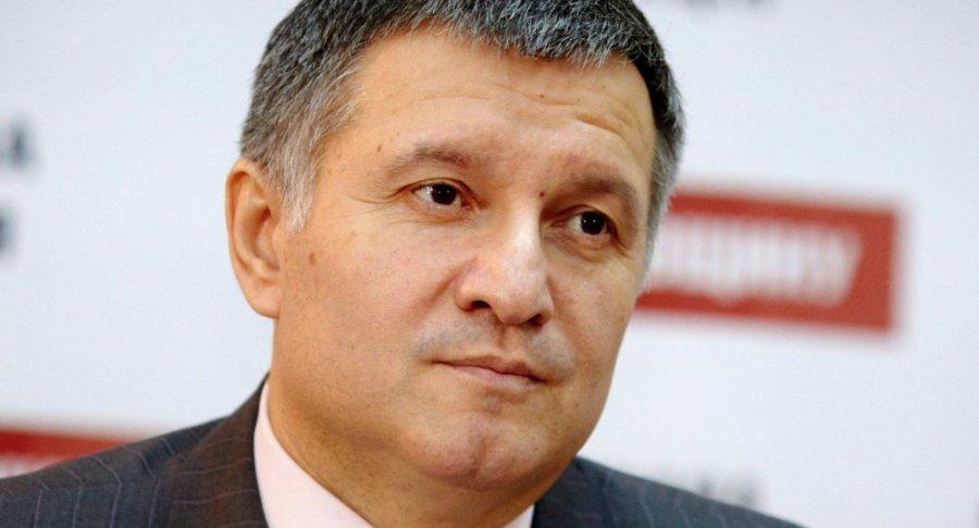 UKRAINE Le ministre ukrainien de l'Intérieur Arsen Avakov 1015357918