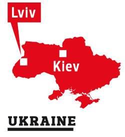 UKRAINE près de Lviv (Lemberg). 6dc2c79e-be75-11de-ae22-0dfae99a5dc9