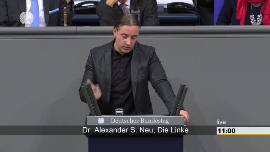 allemagne 2 le 26 novembre, Alexander Neu, membre du parti Die Linkemaxresdefault