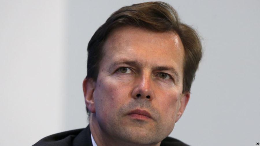 allemagne Steffen Seibert, chef et porte-parole du gouvernement fédéral allemand 750A22E0-5C18-467E-ACCE-71D3FABB55DE_w1023_r1_s