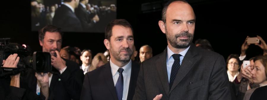 FRANCE Edouard Philippe et de Christophe Castaner13772764