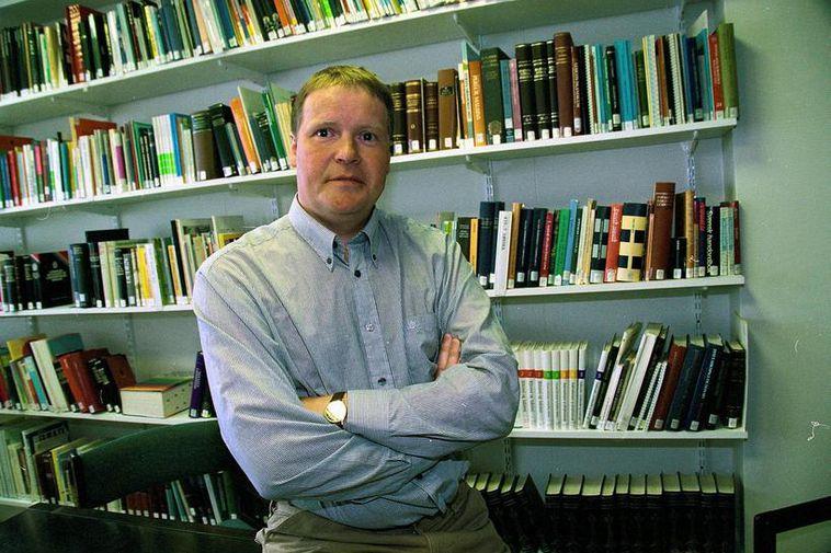ISLANDE Ari Páll Kristinsson, professor at the Árni Magnússon Institute of Icelandic Studies 933436