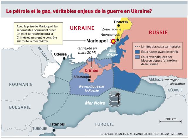 mer d'azov ukraine crimee russie mer d'azov topelement