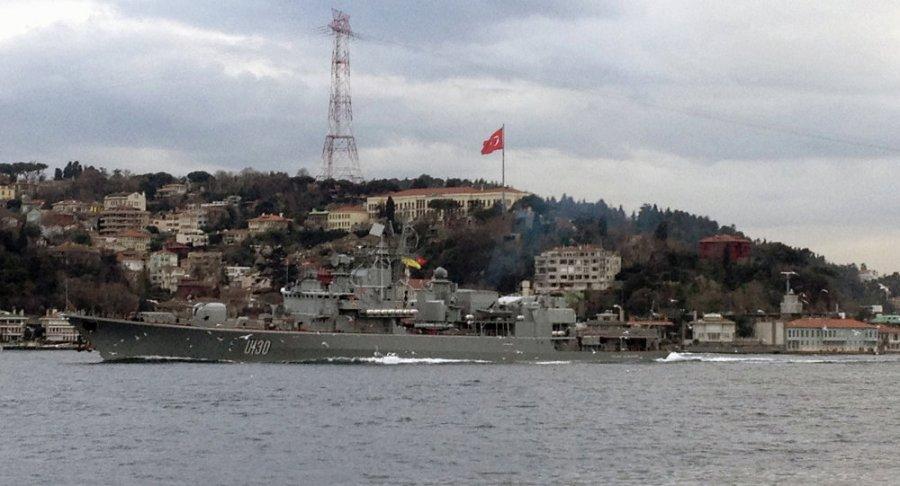 ukraine Le navire-amiral de la Flotte ukrainienne 1023188146