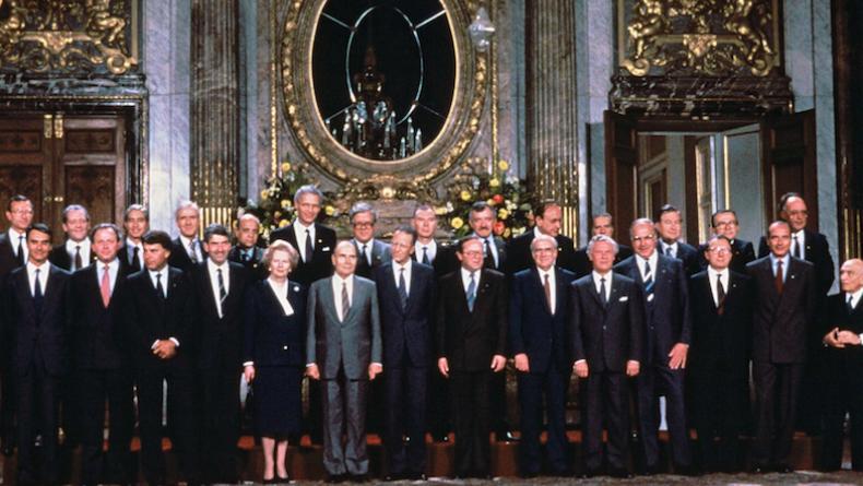EUROPE 1er juillet 1987 - et l'Europe devient allemande 5834-100236524
