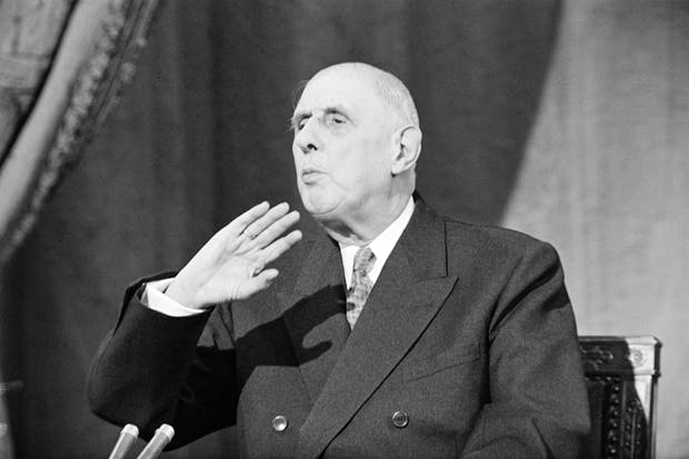 FRANCE CHARLES DE GAULLE GettyImages-599732997