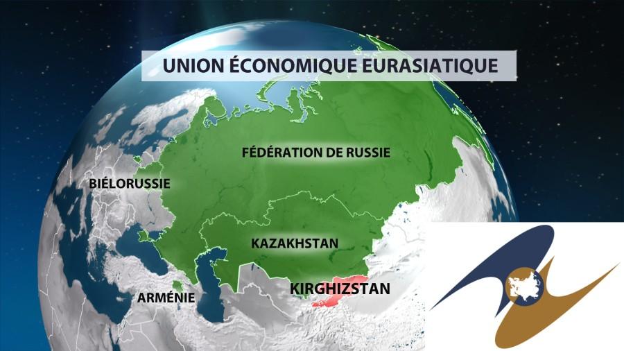 L'Union Economique Eurasiatique s'étend jusqu'au Kirghizistan 55cb59f1c461882a438b4580