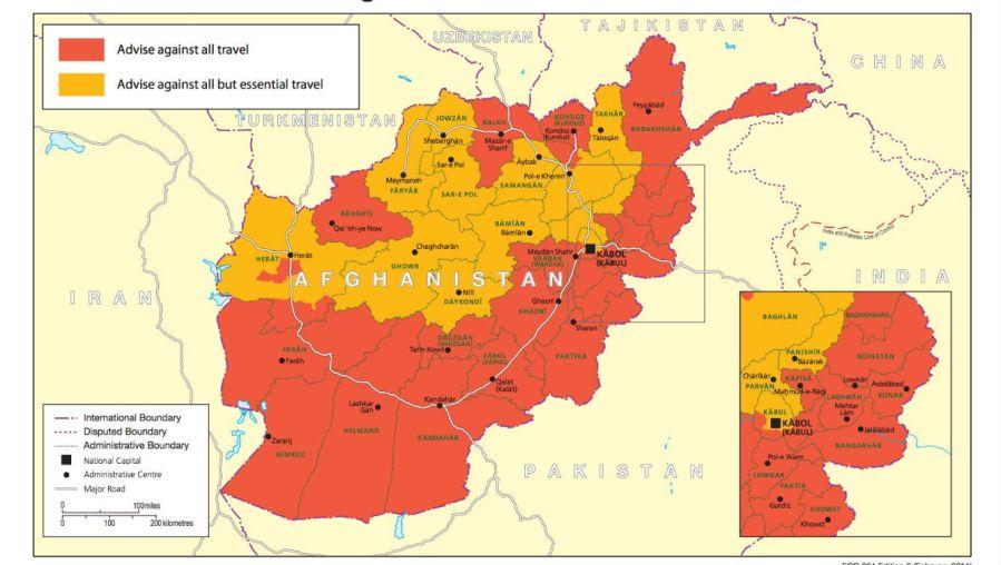 afganistan danger-zone