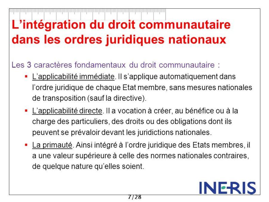 droit l%u2019intégration+du+droit+communautaire+dans+les+ordres+juridiques+nationaux