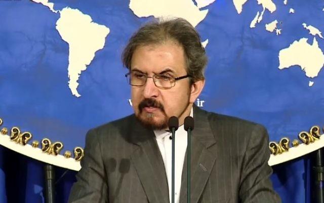 iran le porte-parole du ministère iranien des affaires étrangères bahram ghassemiasvasvsavasv-e1489843251615-640x400