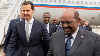 le président soudanais omar el-béchir, accusé par la cour pénale internationale de crimes contre l'humanité, crimes de guerre et génocide, s