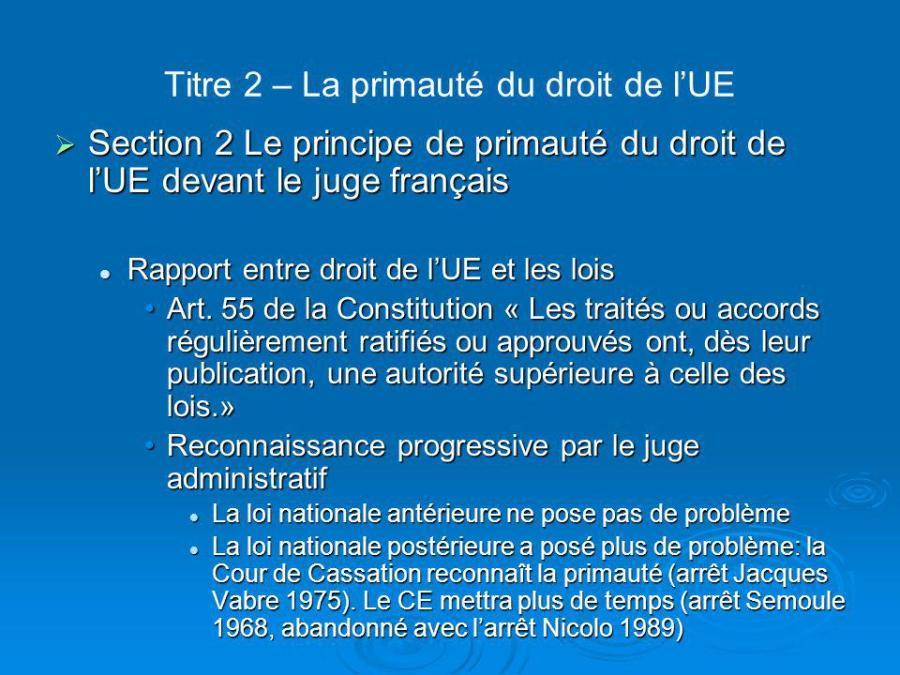 loi primaute titre+2+–+la+primauté+du+droit+de+l%u2019ue