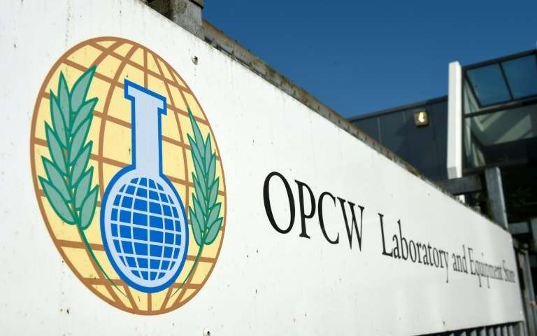 oiac-organisation-for-the-prohibition-of-chemical-weapons-opcw-a-la-haye-le-20-avril-2017
