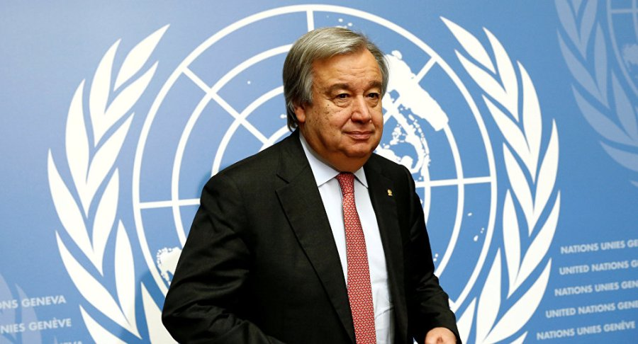 onu antónio guterres, le neuvième secrétaire général de l'organisation des nations unies, a pris ses fonctions le 1er janvier 2017.jan 1, 20171028189097
