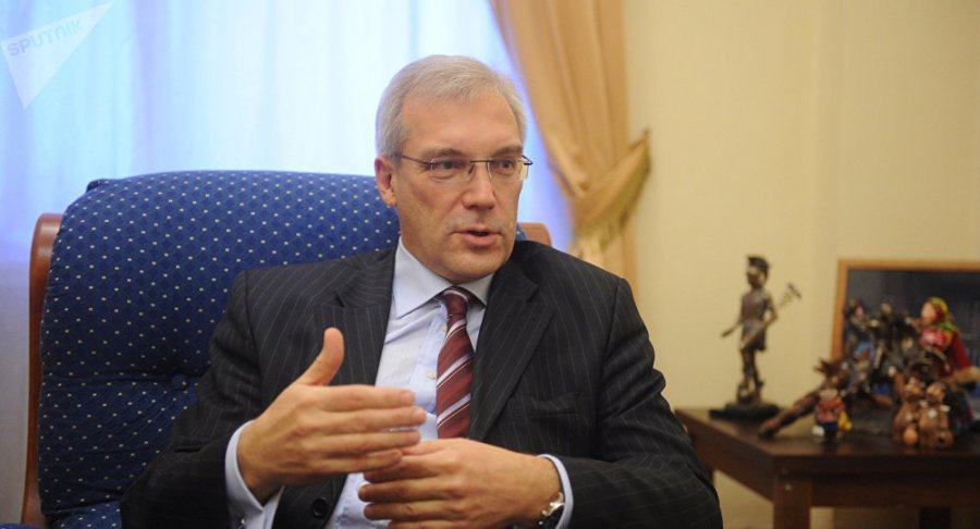 russie le vice-ministre russe des affaires étrangères alexandre grouchko1036145338