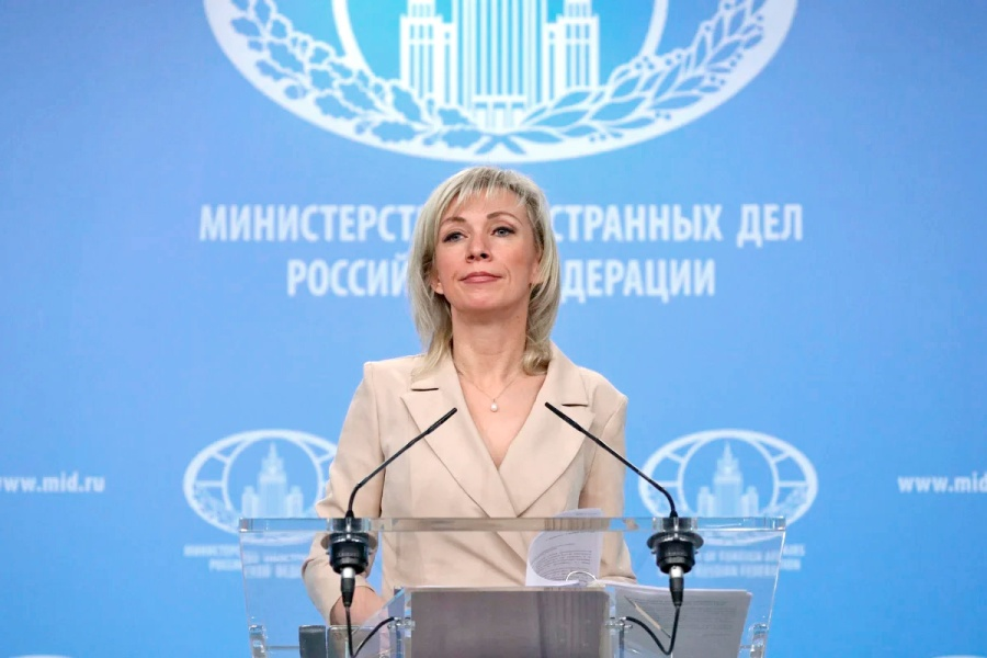 russie maria zakharova Брифинг 11 января