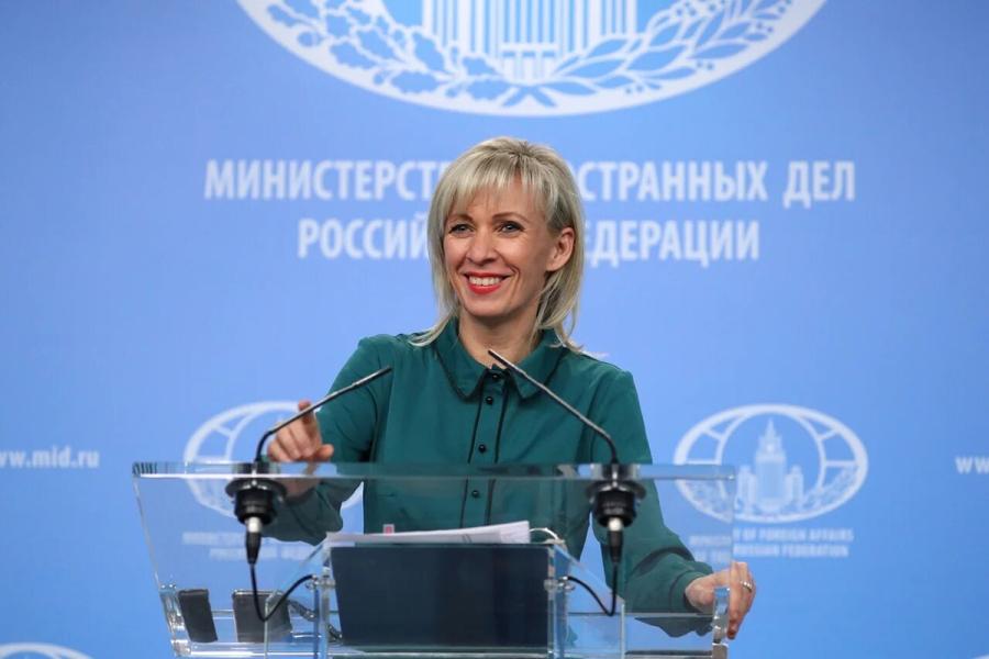 russie maria zakharova 19 décembre 2018 Брифинг_181219
