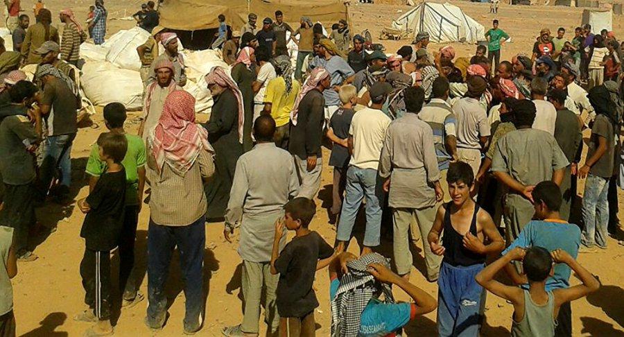 syrie camp de réfugiés 1034396049