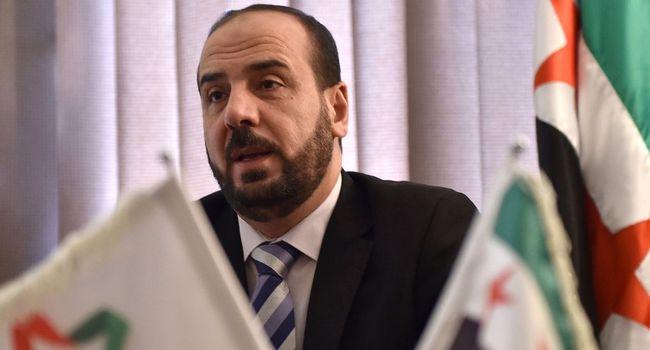 syrie nasr al-hariri, le chef de l'opposition syrienne en exil cb898cb6aecd787241c33a8c2f2adf8700b639cf