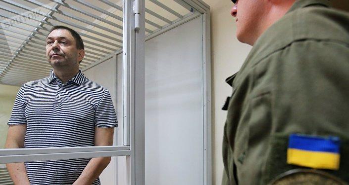 ukraine le journaliste kirill vychinski au tribunal de kherson 1037802063