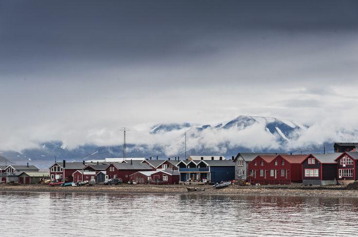 Iles du Svalbard, archipel, paysages