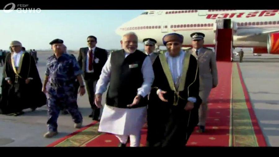 inde oman visite de février 2018 à Oman, le Premier ministre Narendra Modi21b1f2cd7b540e17024036af8b345290