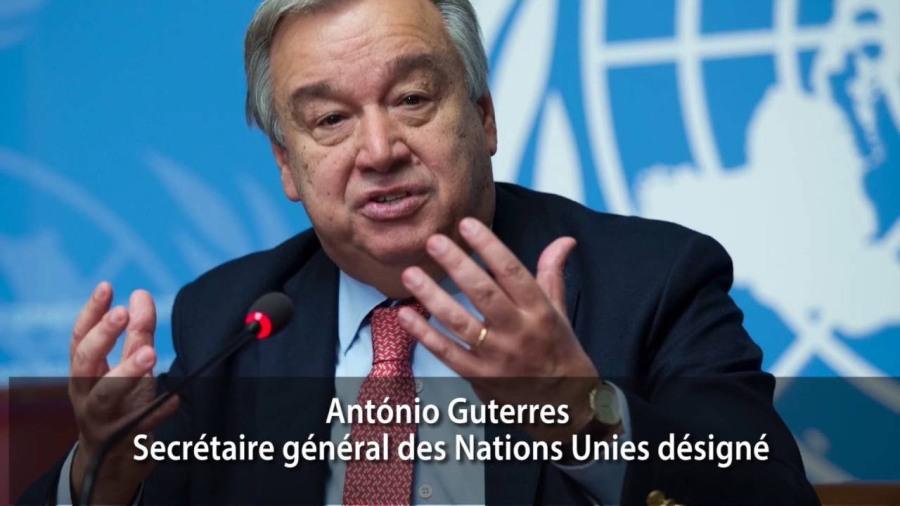 onu Secrétaire général António Guterres maxresdefault