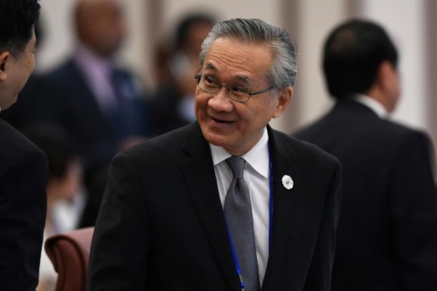 thaïlande Le ministre thaïlandais des Affaires étrangères Don Pramudwinai, le 8 novembre 2017d9f0f7c541f4c2215b109827cb7d1