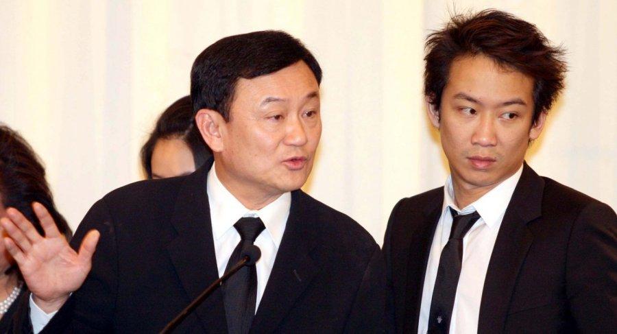 Thaksin Shinawatra et son fils 530407eb9ec231ace8fdaa2161e54effThaksin Shinawatra
