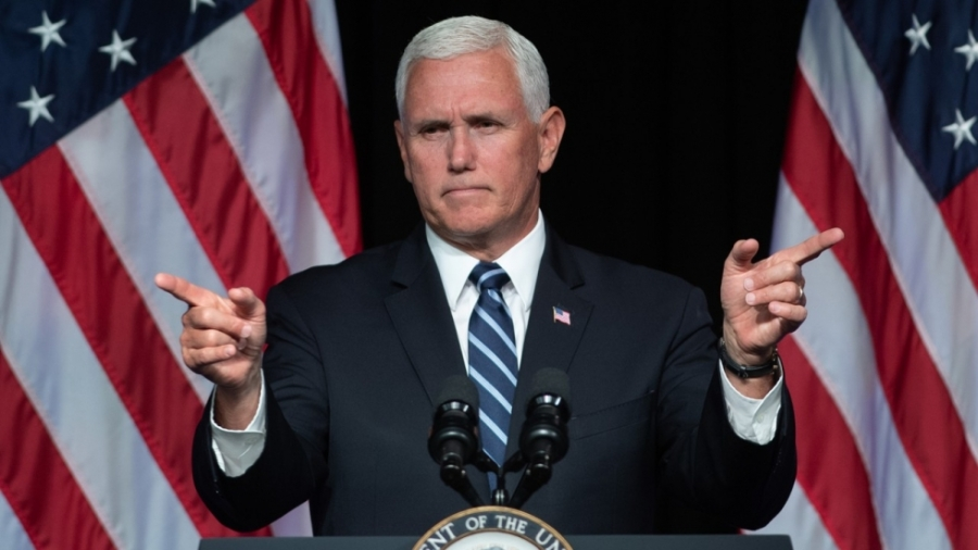 US Vice-President Mike Pence 9448d866-c7e6-11e8-9907-be608544c5a1_1280x720_170720