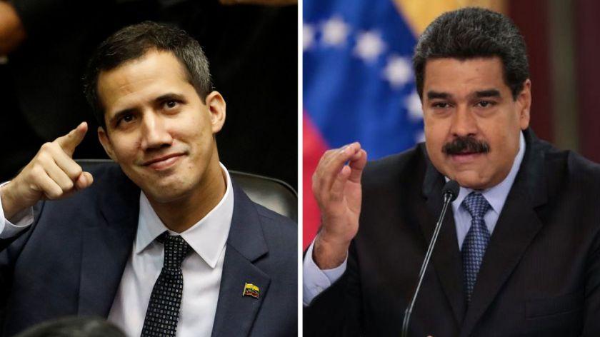 VENEZUELA guaido-y-maduro-20190222-643519