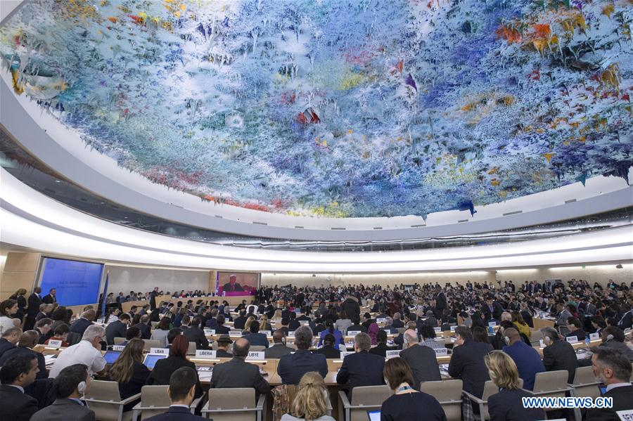 25 février (Xinhua) -- Le Conseil des droits de l'Homme des Nations Unies ..137849996_15511383532161n