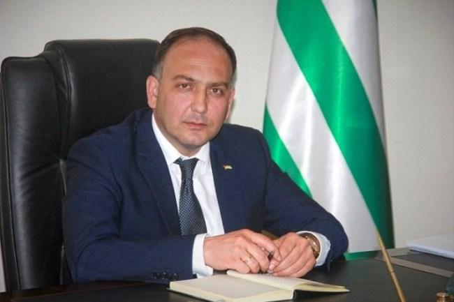 ABKHAZIA Daur Kove, Abkhazia's Minister of Foreign Affairs daur-kove-apssny