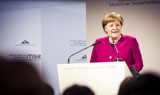 ALLEMAGNE Angela Merkel 20190216_Rede_Merkel