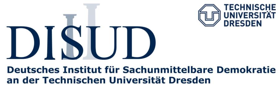 ALLEMAGNE Le Dresdner Institut für sachunmittelbare Demokratie, DISUD photo