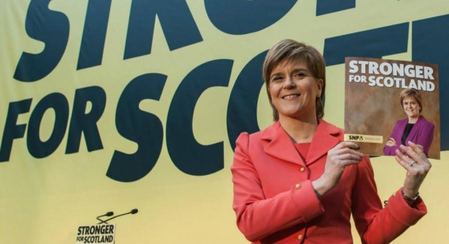 ANGLETERRE Nicola Ferguson Sturgeon, née le 19 juillet 1970 à Irvine, dans le North Ayrshire, est une femme d'État britannique écossaise, cheffe du Parti national écossais le 20 novembre de la maxresdefault