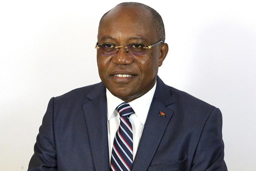 Angola-UMIN-1angolais des Affaires étrangères Manuel Domingos Augusto