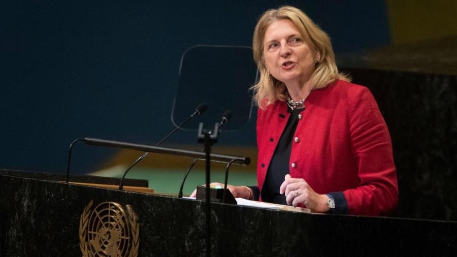 AUTRICHE Karin Kneissl, Ministre autrichienne DIA-MAE-austria