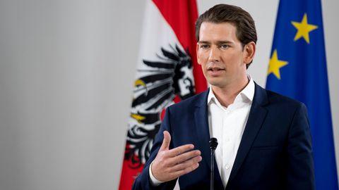 AUTRICHE le-ministre-autrichien-des-affaires-etrangeres-et-chef-du-parti-populaire-autrichien-ovp-sebastian-kurz-a-vienne-le-14-mai-2017_5882513
