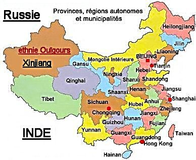 CHINE REGIONS carte_chine_regions1