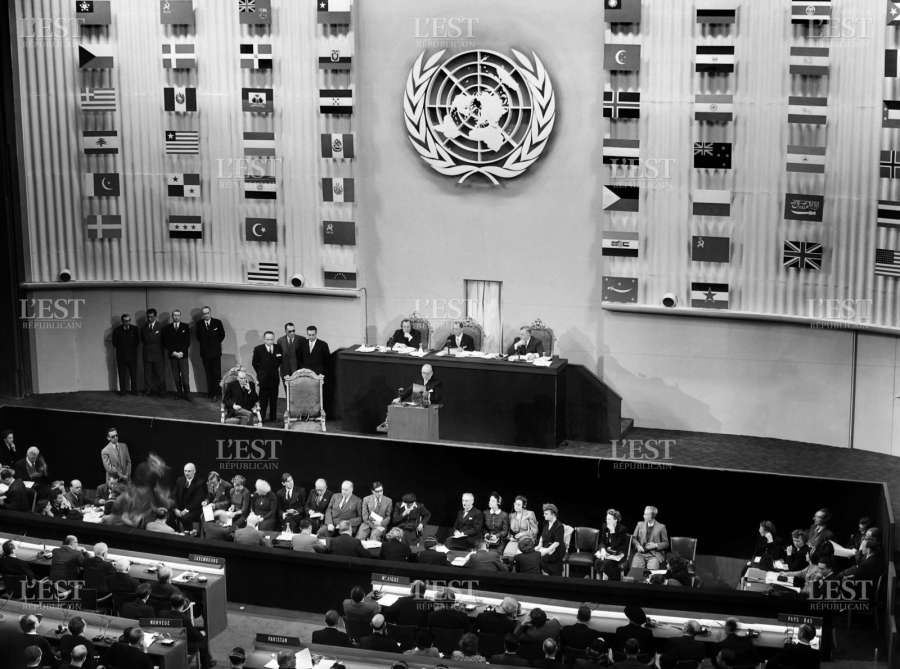 DROIT DE L HOMME la-dudh-etait-adoptee-par-l-assemblee-generale-des-nations-unies-a-paris-le-10-decembre-1948-photo-stringer-afp-1544539427