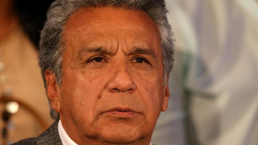 equateur , Lenin Moreno, devient président de la République d'Equateur avec 51,16% moreno_equateur_0