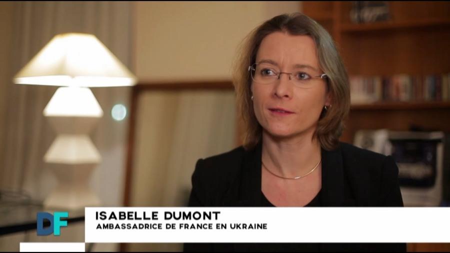 FRANCE EN UKRAINE l'Ambassadrice de France Isabelle Dumont maxresdefault