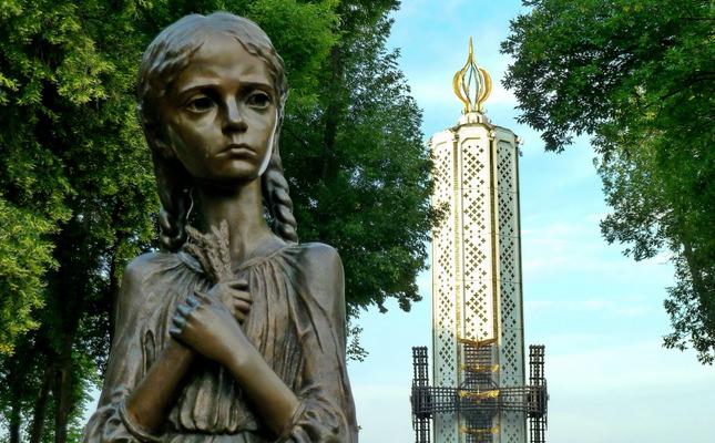 Holodomor Memorial in Kiev1457046727831