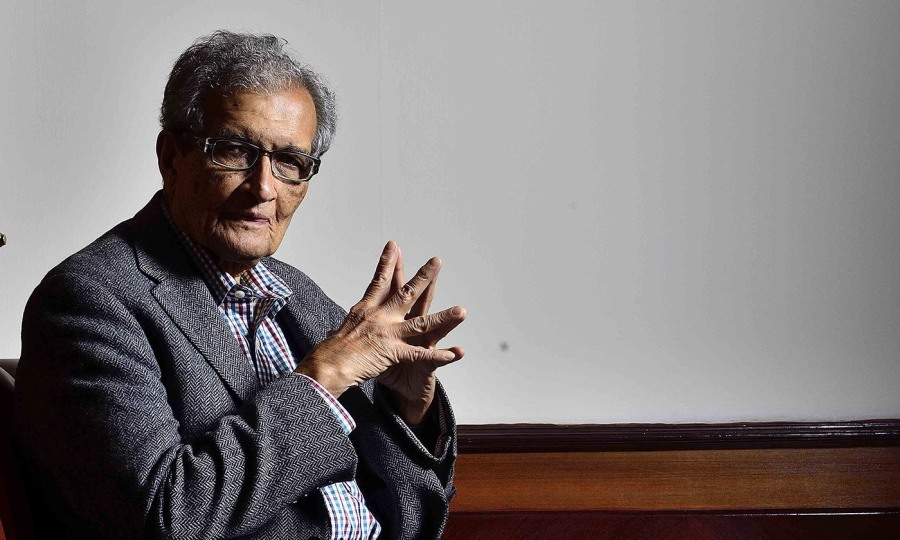 INDE Amartya Sen photographed in New Delhi, 2017idea_sized-amartya-sen-659890052