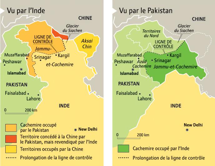 INDE PAKISTAN 6002C-cachemire2vues