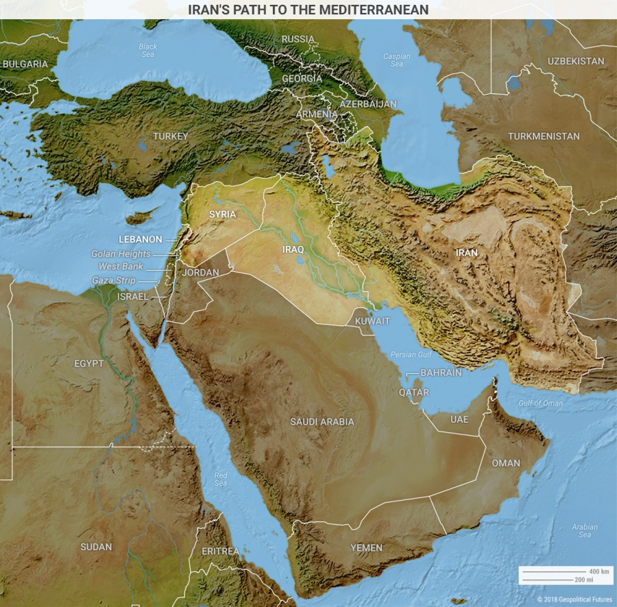 IRAN middle-east-iran-path-to-mediterranean
