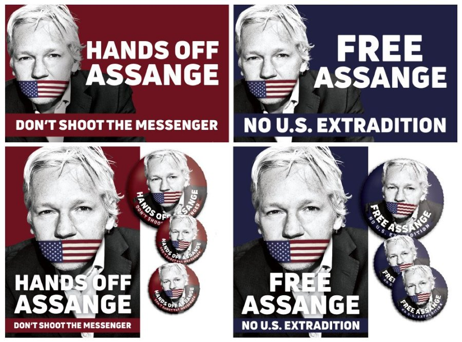 Julian Assange a fondé Wikileaks fin 2006hands_off_assange