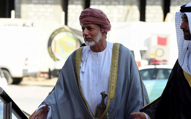 Le ministre des Affaires étrangères omanais Yussef bin Alawi 000_Nic6485948-640x400