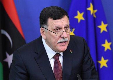 LIBYE Le chef du Gouvernement d'entente nationale libyen Fayez al-Sarraj ...1031009622